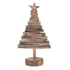 Wooden Christmas Tree by Little Red Heart ~