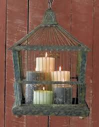 jaulas con velas