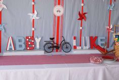 Bicycle Birthday Party | CatchMyParty.com
