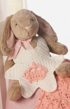 I'm the Princess Bib Free Crochet Pattern from Red Heart Yarns