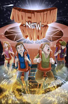 #JUEGOSDEMESA #CROWDFUNDING #ADRENALINA - ¿Quién no ha ido nunca a un parque de atracciones? Y no ha sentido un sinfín de diferentes emociones. Pero… y si ahora tú creas tu propio parque de atracciones. ¡Vive la experiencia de ver disfrutar a montones de visitantes! entrarán y admirarán tu parque. ¿O será el de tu rival? Crowdfunding Verkami: http://www.verkami.com/projects/11098-adrenalina-new-park