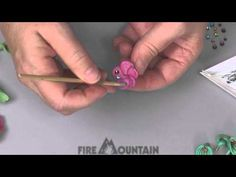 Video Tutorial - Creating a Sparkle Flower with Polymer Clay - Fire Mountain Gems and Beads
