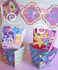 MAR DE PAPEL: Los 4 años de Marina: My little pony