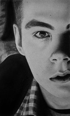 Stiles Stilinski (Dylan O'Brien) Teen Wolf Fan Art - Oh my god... I need to draw something as amazing as this. This is BEYOND EPIC!