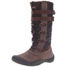 JBU by Jambu Womens Whitney Vegan Leather Faux Fur Lined Snow Boots