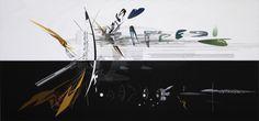 El proceso creativo de Zaha Hadid a través de sus pinturas