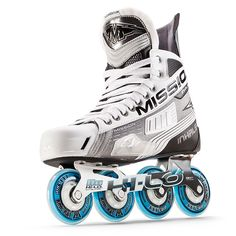Shop MISSION Inhaler Inline Skate - Senior from Pure Hockey. We offer the largest selection of Inline Hockey Skates at the lowest prices, guaranteed. Roller Hockey Skates, Quad Skates, Hockey Gloves, Hockey Gear, Ice Hockey, New York Rangers, Triathlon, Roller Sports, Inline Hockey