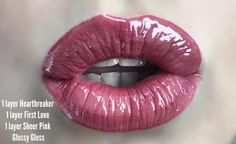 Combo look LipSense! Click to see my page and order! Join my team to get half off and make easy $$$ :)