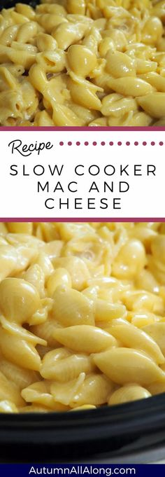 This slow cooker mac and cheese recipe is mouth watering and so easy to make! If… This slow cooker mac and cheese recipe is mouth watering and so easy to make! If you have two hours to spare, then this recipe is already finished! Health Slow Cooker Recipes, Slow Cooker Hamburger Recipes, Slow Cooker Mac N Cheese Recipe, Slow Cooker Lasagna, Slow Cooker Chicken, Cheese Recipes, Velveeta Recipes, Sausage Recipes, Cooking Recipes