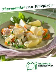 Warzywa w sosie holenderskim jest to przepis stworzony przez użytkownika Thermomix. Ten przepis na Thermomix® znajdziesz w kategorii Dania główne z warzyw na www.przepisownia.pl, społeczności Thermomix®. Feta, Potato Salad, Food And Drink, Potatoes, Ethnic Recipes, Thermomix, Potato