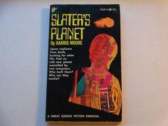 Vintage Science Fiction Paperback Slater's by TreasureTroveBooks