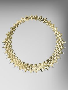 18kt Yellow Gold Brillantissimo Necklace With Diamonds