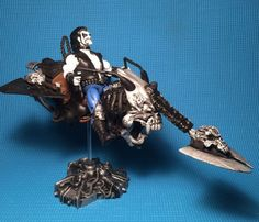 Lobo's Space Bike/Space Hog (Masters of the Universe) Custom Action Figure