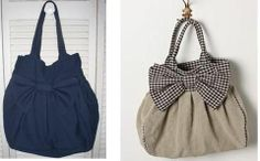 maybe out of denim? I'm thinking overnight bag.