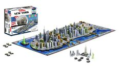This is a puzzle of 4D New York City Skyline. Includes 120 building replicas with contains 700 pieces . A gift idea - toys for 10 year old boys