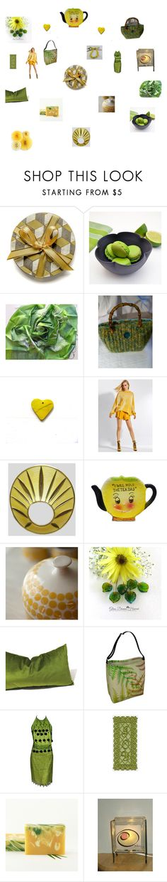 """""""Cheerful gifts"""" by einder ❤ liked on Polyvore featuring interior, interiors, interior design, home, home decor, interior decorating, Arabia, Versace and Giallo"""