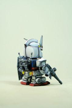 SD RX-78 anime coloring by Kipok, Nam (Korea)  http://www.signaturediton.com