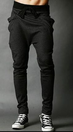 Unique Pocket Mens Joggers Cargo Men Pants Sweatpants Harem Pants Men Jogging Sport Pants - tncsmithproductions.com