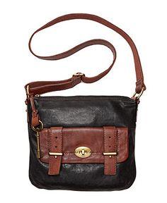Fossil Handbag Mason Top Zip Crossbody Bag