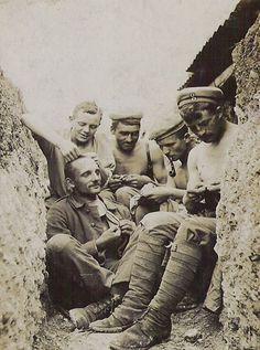 Villers-Bretonneux (Somme), abril de 1918