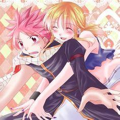 Lucy: SURPRISE!!!😀😁😁 Natsu:ahhhhh😨😳