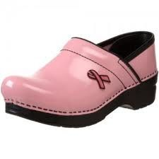 Dansko's Professional Pink Ribbon clog is perfect for the woman who can't be slowed down by discomfort in her job. The Pink Ribbon clog fits this month perfectly as it's Breast Cancer Awareness month! Dansko Shoes, Mules Shoes, Clogs, Shoes Heels, Nursing Shoes, Shoe Boots, Shoe Bag, Most Comfortable Shoes, Professional Women