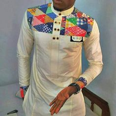 African Clothing for Men African Print Clothing by AfricaBlooms If you love fashion check us out. We're always adding new products for your closet! African Shirts For Men, African Dresses Men, African Clothing For Men, African Tops, African Attire, African Wear, Ankara Clothing, African Clothes, African American Fashion