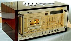 Nakamichi 1000ZXL Gold Recording Computer.