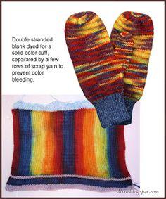 Slisen's Happy Place: sock blank