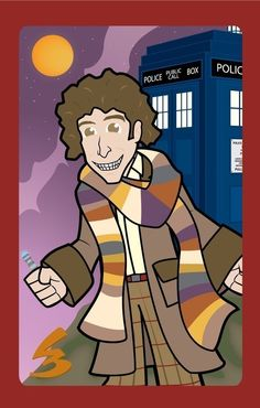 Doctor Who  $10.00 USD Tom Baker as Doctor Who number 4