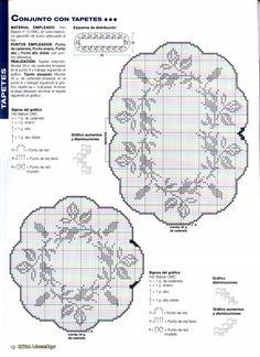 Diagrama Tapete con rosas