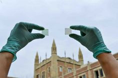 Researchers at UCLA have developed a new kind of see-through solar cell that could be used on windows, car sunroofs, smartphone displays and other transparent surfaces to harvest energy from the sun.