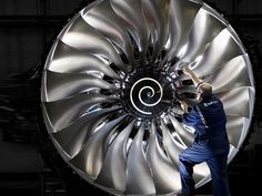high rollers ... the Rolls Royce Trent 3 spool Jet Engine