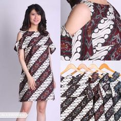 Voviba Ethnic Casual Mini Dress | Sale Stock Indonesia