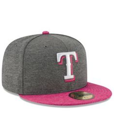 new styles fb38e 4c7cc New Era Texas Rangers Mother s Day 59FIFTY Cap   Reviews - Sports Fan Shop  By Lids - Men - Macy s. Texas RangersMens CapsSports Fan ShopSnapbackMlb ...