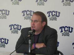 TCU Texas Christian University Horned Frogs current head football coach Gary Patterson