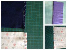 Faça uma costura para o acabamento dos bolsos!