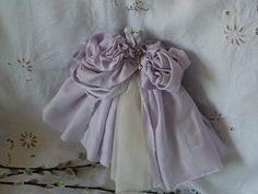 Art Dress Assemblage  Peony  SALE by MesssieJessie on Etsy, £42.00