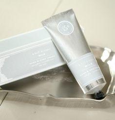 K. Hall Designs Hand and body cream, scent milk, Dmonaco Designs steal, great gift $29.00 & under