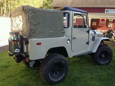 Dune Beige FJ40 with a mini roof? Toyota J Series Land Cruiser