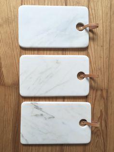 Tablero de corte de mármol blanco por SantaPacienciaDesign en Etsy