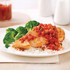 Bruschetta, Broccoli, Chicken, Vegetables, Ethnic Recipes, Poke Bowl, Mars, Foods, Style