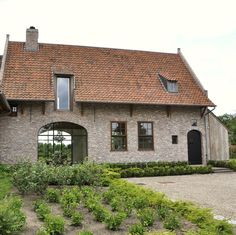 Exclusive country house with outdoor pool and pool house Future House, My House, Barn Renovation, Archi Design, Brick Architecture, Belgian Style, Stone Houses, My Dream Home, Building A House