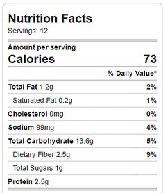 Weight Watchers SmartPoints Per Breakfast Cupcake: 2 Nutrition facts are based on each of 12 regular-sized breakfast cupcakes.