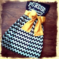 Custom Game Day Dresses! My Purdue Dress turned out so perfect! So reasonably priced and made to order!