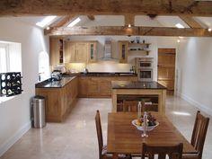 Oak kitchen (de Churchwood Design)