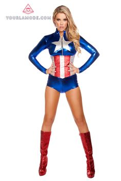 2pc All American Temptress Costume