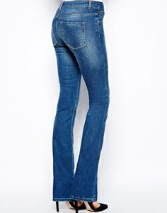 Frame Denim flared jeans - non skinny jeans on redsoledmomma.com ...