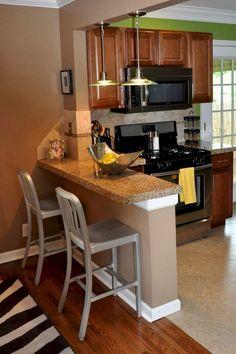 45+ Good Smart Small Kitchen Design Ideas #smallkitchen #kitchendesign #kitchendesignideas