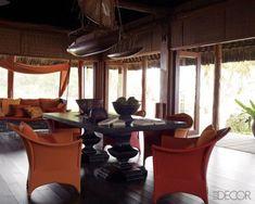 nautical pool island elledecor dining
